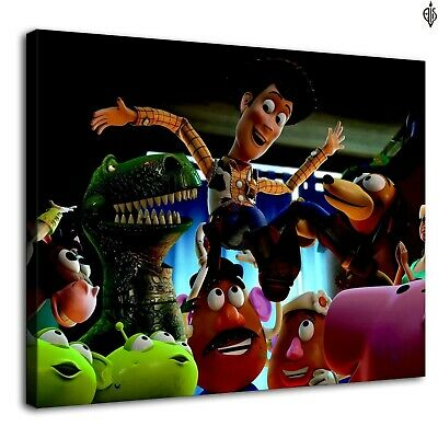 toy story poster HD Canvas prints Home Decor Wall art painting 12X16inch