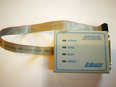 Altera BitBlaster cable w/ Baud Rate Selection for Altera CPLD FPGA Programmer