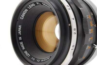 [EXC+++] Canon FL 50mm F/1.8  MF Camera Lens From Japan #AIE