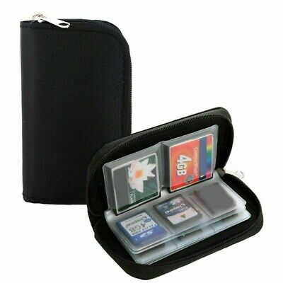 SDHC MMC CF Micro SD Memory Card Storage Carry Pouch Case Holder Wallet CDS Hot