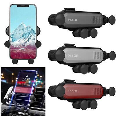Universal Car Mount Phone Holder Cradle Bracket Gravity Air Vent Stand GPS 360°