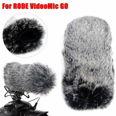 Dusty Microphone Furry Cover Windscreen Windshield Muff For RODE VideoMic GO