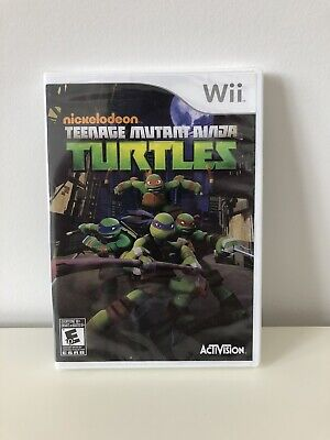 Nickelodeon Teenage Mutant Ninja Turtles (Nintendo Wii) - Brand New