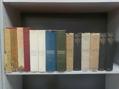 Winston S.Churchill- 14 Books. (ID:5493)