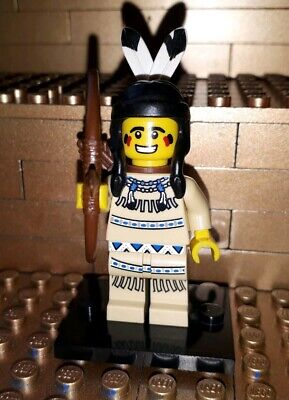 X 1 HAIR PIECE FOR THE TRIBAL HUNTER FROM SERIES 1 LEGO-MINIFIGURES SERIES 1