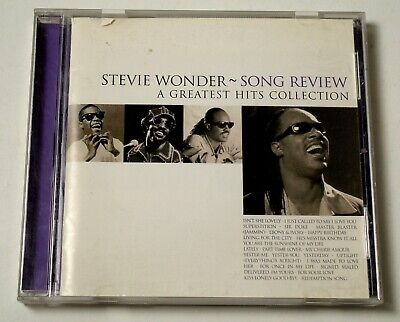 Stevie Wonder - Song Review / A Greatest Hits Collection CD US VG+