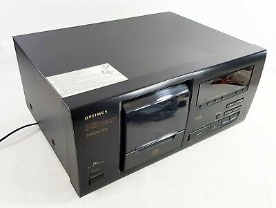 Optimus CD 2025 CD  player and 25 Disc Changer - NO REMOTE - FREE UK DELIVERY