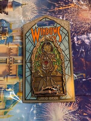 Disney Windows Of Magic Baloo Jungle Book Pin LE 2000 In Hand