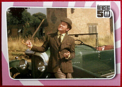 THE AVENGERS 50 Years - Card #52 - STEED'S 1929 4.5 LITRE BENTLEY - Unstoppable