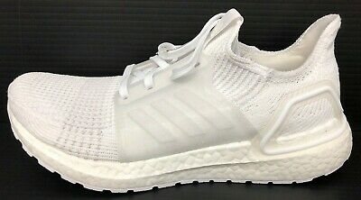 new product e174b 7fdde ADIDAS ULTRABOOST 19 'Triple White' (Men's) G54008 - FREE SHIPPING -