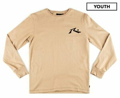 Rusty Kids' Competition Long Sleeve Tee - Beige