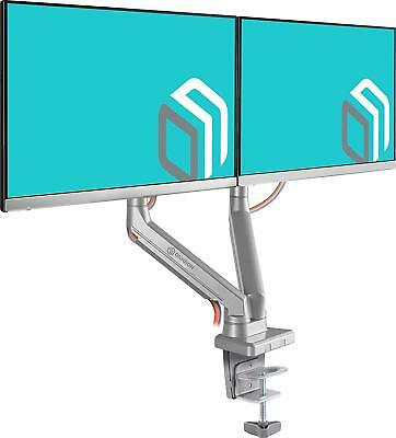 ONKRON Standing Monitor Desk Mount for 13 to 27inch Screens up to 13.2 lbs G80FS