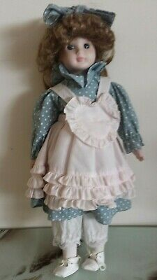 Small vintage Porcelain dolls ( 40cm height )