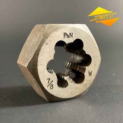 "P&N Australia 7/8"" Bsw Whitworth 1-3/4"" Hex Die Nut *Near New* Pnwb1"