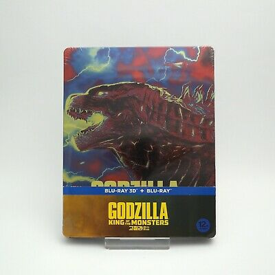 Godzilla: King Of The Monsters - Blu-ray Steelbook 2D + 3D Combo Edition (2019)