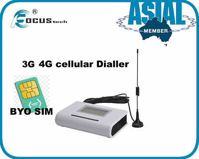 LCD GSM WIRELESS Fixed Terminal LTE 4G 3G 2G Home Security Burglar