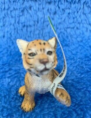 Schleich Wildlife Series #14372 Baby Tiger Cub Playing-Rare Discontinued Model