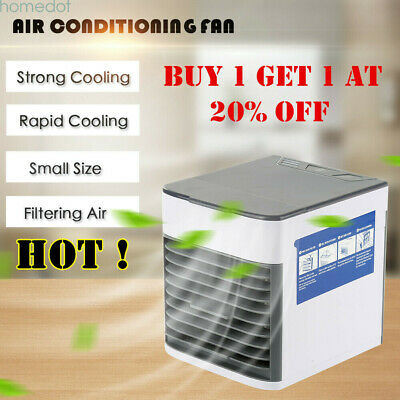 Portable Mini Air Conditioner Cool Cooling For Bedroom Artic Cooler Fan HOT US
