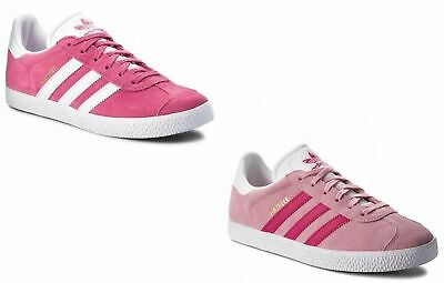 Womens adidas trainers Gazelle girls Originals pink sneakers shoe gazelle