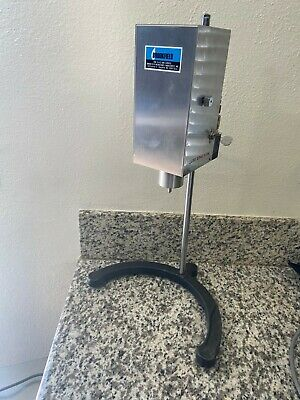 Brookfield LVT Pneumatic Viscosel Viscometer with Case Stand and Spindle Set