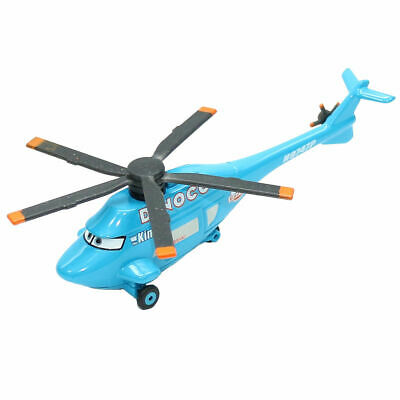 Mattel Disney Pixar Cars Dinoco Helicopter Metal Diecast Toy Planes Loose 1:55