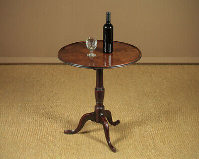 Antique Georgian Mahogany Wine Table c.1800.