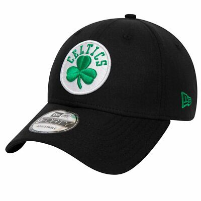 New Era 9Forty Cap - CHAMBRAY LEAGUE Boston Celtics schwarz