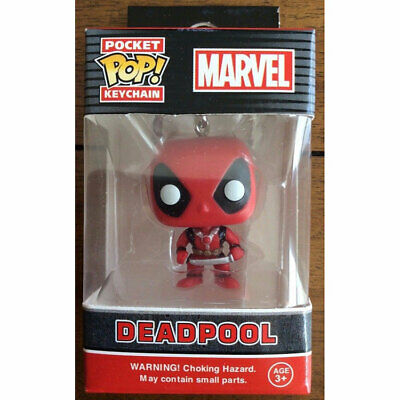 FUNKO POP Keychain Marvel Stranger Things Deadpool Game of Thrones With Box