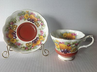 Royal Albert Cup and Saucer Coutry Fayre Series Dorset Made in England