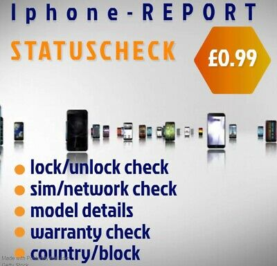 Iphone / Sim / Carrier / Phone / Network - Lock Unlock Status, Check Any Model