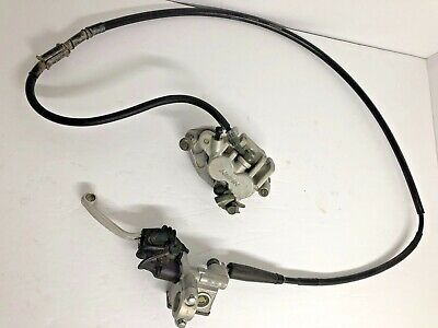 YZ450F Front brake assembly 2003 Yamaha caliper master WR450F lever pads Nice!!