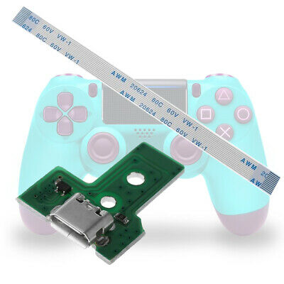 1Set USB Charging Port Board With 12 Pin Flex Cable For JDS-030 PS4 Controller K