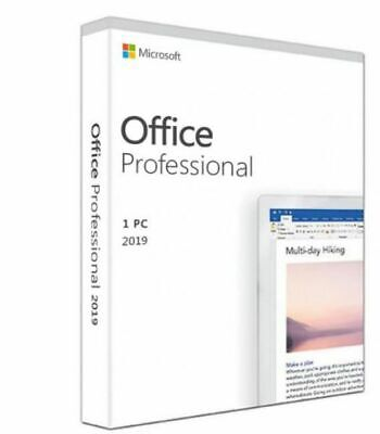 Microsoft Office Professional for WIN 1PC 2019 ESD MultiLanguage