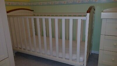 separation shoes c5783 86458 HENLEY COT BED (Cream Colour) - Nursery Furniture from Babies R Us &  mattress