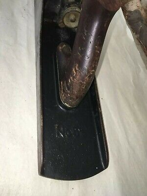 Antique Stanley Bailey No. 5 1/2  Smooth Bottom Plane Pat'd Dates 1902 & 1910