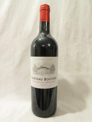 saint-émilion château boutisse grand cru rouge 2012 - bordeaux france
