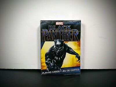Marvel Black Panther Playing Cards New