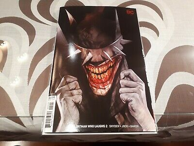 The Batman Who Laughs issue 2 Variant Ben Oliver cover DC Comics NM 1st Print