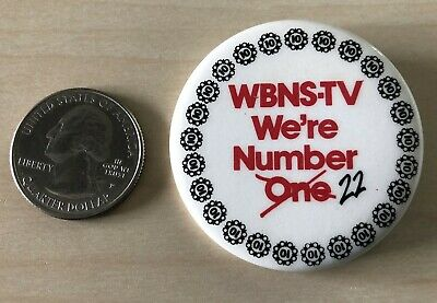 VINTAGE PROMO PINBACK BUTTON #114-019 BEAUTY AND THE BEAST TV SHOW #2