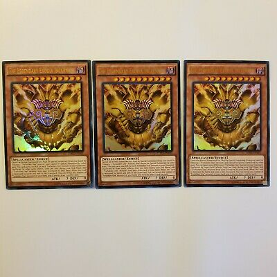 Yugioh The Legendary Exodia Incarnate x3 (LDK2-ENY01) Ultra Rare Unlimited NM/M