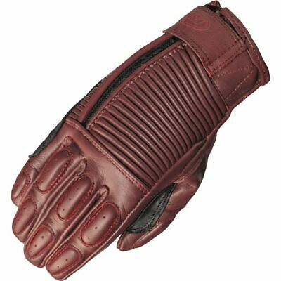 Roland Sands Design Gezel Women's Leather Motorcycle Glove - Oxblood, All Sizes