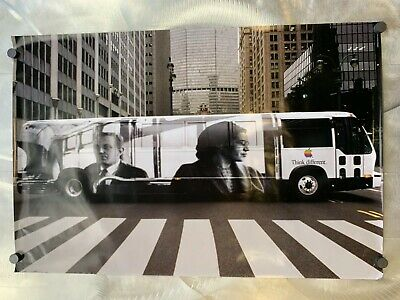 Vintage Apple Think Different Rosa Parks Poster Campaign Rare Poster 1998