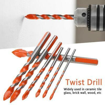 Triangular-overlord Handle Multifunctional Drill Bits 3mm-12mm Set High Quality