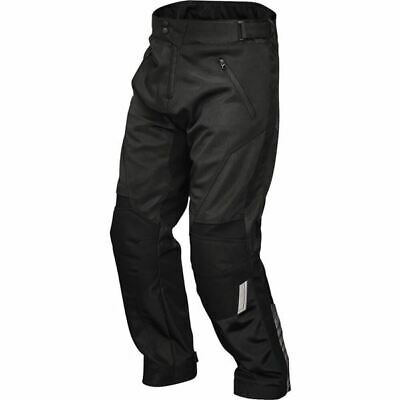 Firstgear Rush Air Vented Textile Pants - Blk, All Sizes