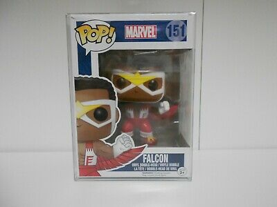 Marvel Funko Pop! Falcon #151 in protector
