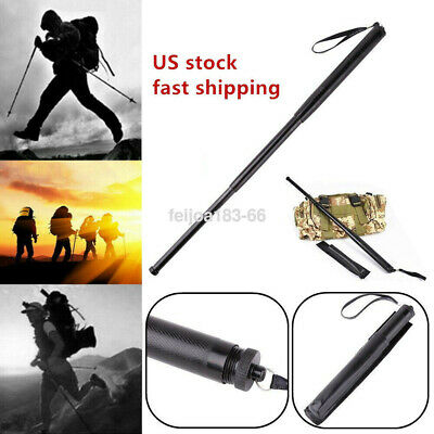"""Self Protect Retractable Stick Gifts Protector Outdoor Tool Telescopic 19.69"""" US"""