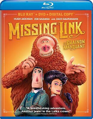 Missing Link (Blu-Ray/2019) ***Animated Adventure***