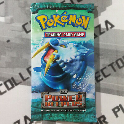 x1 Booster pack EX POWER KEEPERS Pokemon cards in ENGLISH NEW SEALED Walrein