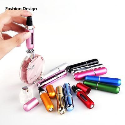 5ML Portable Travel Refillable Perfume Atomizer Scent Pump Spray Bottle Empty