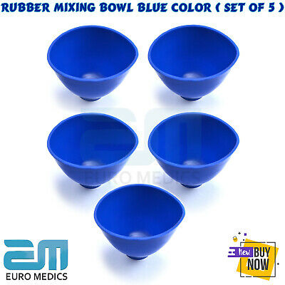 Dental Mixing Bowl Alginate Impression Silicone Nonstick Flexible Rubber Tool CE